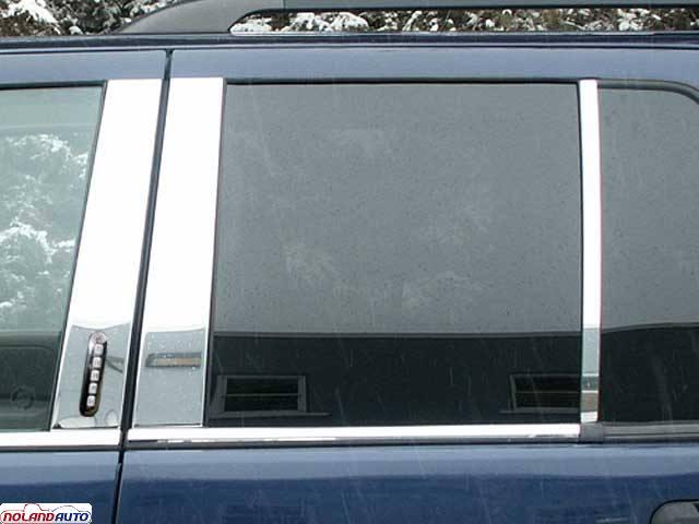 Qaa 6 Pieces Pillar Post Trim Ford Explorer 2002 2010 4 Door With Keyless Entry Pp42642