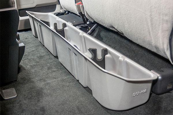 Du Ha 10042 Underseat Storage Gun Case Gmc Sierra Light
