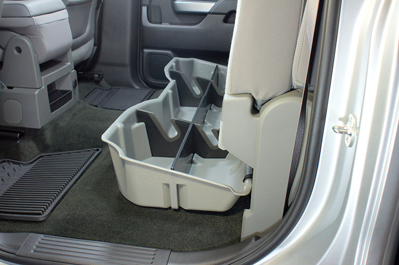Du Ha 10300 Underseat Storage Gun Case Chevrolet Silverado