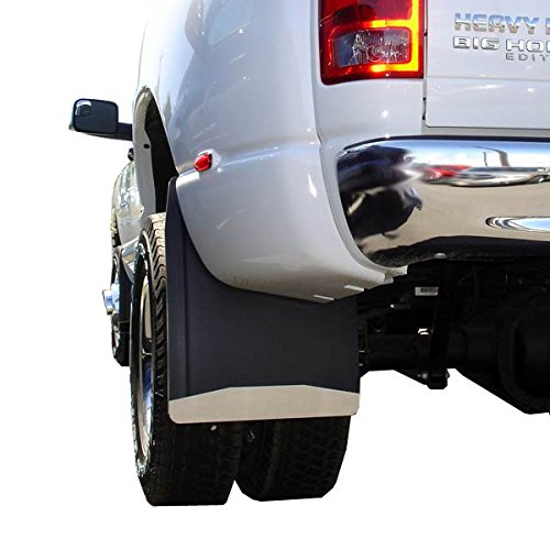 UltimateFlap Rear Dually Mud Flap With Stainless Steel Weight